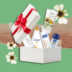 Sanex and Dove Giftbox